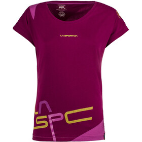 La Sportiva Shortener T-Shirt Women Plum